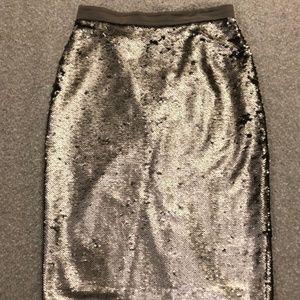 Banana Republic Sequin Pencil Skirt